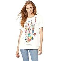 Camiseta Comfort, Colcci, Feminino, Bege Saada, M