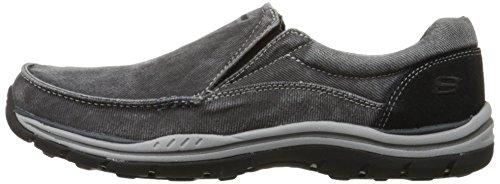Skechers Men's Expected Avillo Relaxed-Fit Slip-On Loafer,Black,13 M US by Skechers (Image #5)