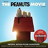 The Peanuts Movie Original Motion Picture Sountrack Exclusive +1 Extra Song CD (2015)