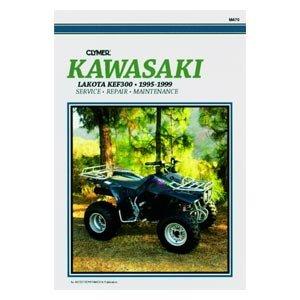 (Clymer Repair Manual for Kawasaki ATV Mojave KSF250 87-04)