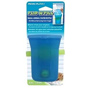 Penn Plax Flip N Fill Water Bottles for Small Animals, 7.9-Inch