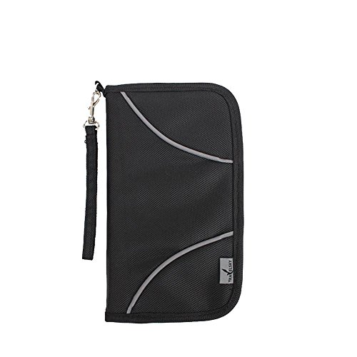 Artmi RFID Blocking Passport Wallet Travel Organizer Useful Card Case