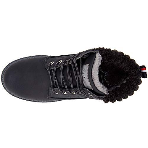 Hiver Quotidienne Boots Femme Sports Bottes Chaussures Cestfini Marche  Outdoor Plush Choix L usure Noir Ankle ... 72f36486a7f