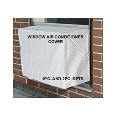 Window Air Conditioner Cover - Window/thru Wall - Outdoor - 27W, 18H, 22D - White