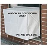 Window Air Conditioner Cover - Window/thru Wall - Outdoor - 24W, 16H, 16D - White