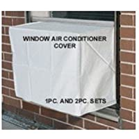 Window Air Conditioner Cover - Window /thru Wall - Outdoor - 26W, 16H, 16D - White