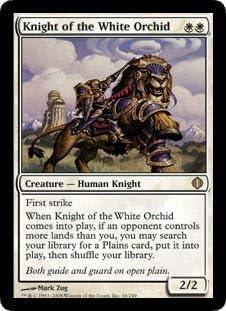 Knight of new alara premium-knight of the new alara-mtg-magic