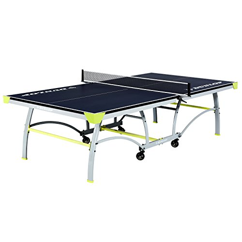 DUNLOP TTT218_117D Official Table Tennis Table, Blue (Dunlop Sporting Goods)