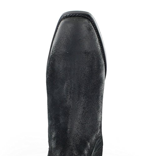 Tony Mora 621 - Botines chelsea de cuero unisex negro - Negro