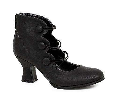 Ellie Shoes Women's 253-Millie Ankle Bootie, Black, 10 US/10 M US