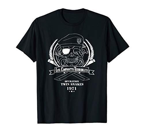 Ps shirt - Les Enfants' Terribles' Metall Gear Sollid Tshirt (Metal Gear Tshirt)