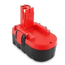 Odec Bosch Tools 18V Battery for BAT025 BAT026 BAT181 BAT160 BAT189 BAT180 52318 53518 3860K 1644K 3860CK 1659RK 3860CRK