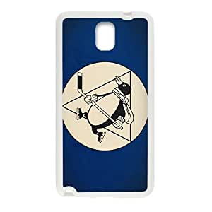 Wish-Store minimalistic sports team hockey NHL Pittsburgh Penguins Phone case for Samsung galaxy note3