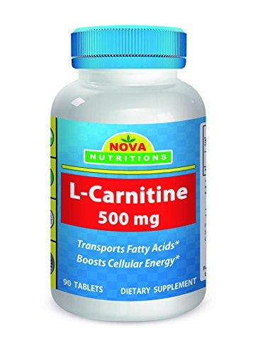 Nova Nutritions L-Carnitine 500 mg 90 Tablets