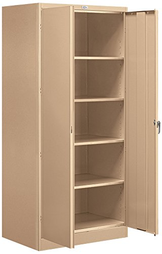 Salsbury Industries Standard Storage Cabinet, 78-Inch by 24-Inch, Tan