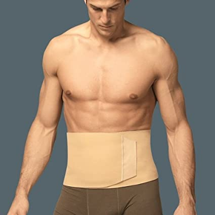 TURBO Med 12750-33 - Faja de cintura y abdomen, color: Crema