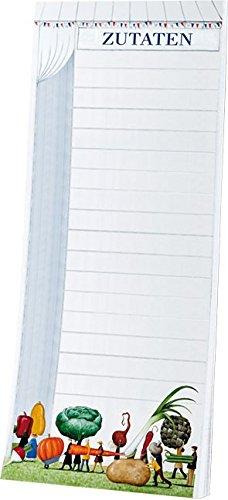 Block note Rannenberg RKNB156 quaderno per appunti con magnete da appendere al frigorifero