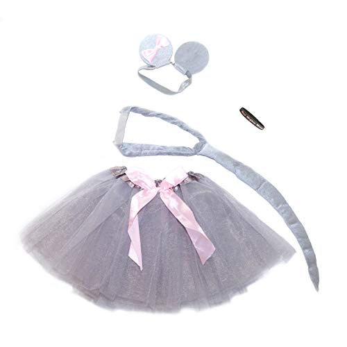 Nutcracker Ballet Character Costumes - Mighty Little Mouse Pretty Princess Tutu