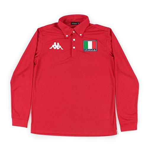 うぬぼれたシャイニング不十分なKAPPA(カッパ) メンズ ゴルフ 長袖シャツ 小さいサイズ 大きいサイズ KG852LS91S
