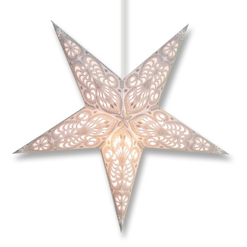 Aquila Star Lantern in White (Aquila Star Lantern in White) (Paper Star Lantern)