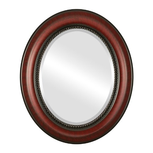 Oval Wall Mirror for Home Decor, Bedroom, Living Room, Bathroom | Decorative -