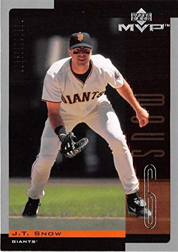 Baseball MLB 2001 MVP #243 J.T. Snow NM-MT ()