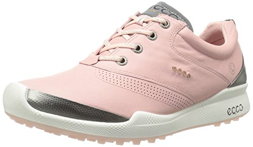 ECCO Women's Biom Hybrid Golf Shoe, Silver Pink/Silver Pink, 41 EU/10-10.5 M US by ECCO