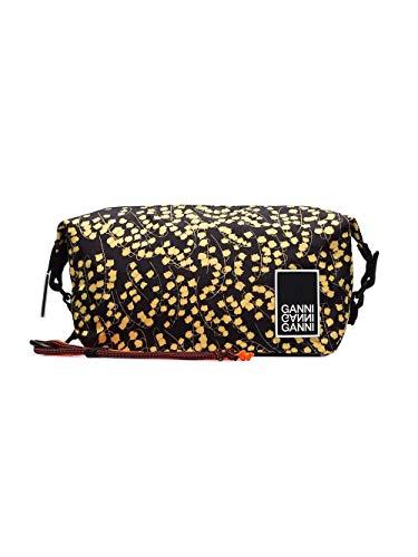 Ganni Women's A1658099black Black Polyester Beauty Case from Ganni