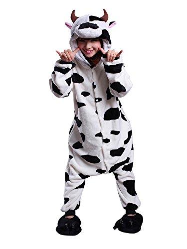 (コレール) Keral ユニセックス 全身タイツ  動物デザイン きぐるみパジャマ/仮装/衣装 牛 XL