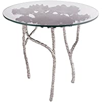 Dimond Home 8987-016 Victoria Round Side Table, 24' x 24' x 22'