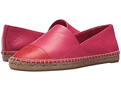 56d73d670013 Tory Burch Color-Block Leather Espadrilles