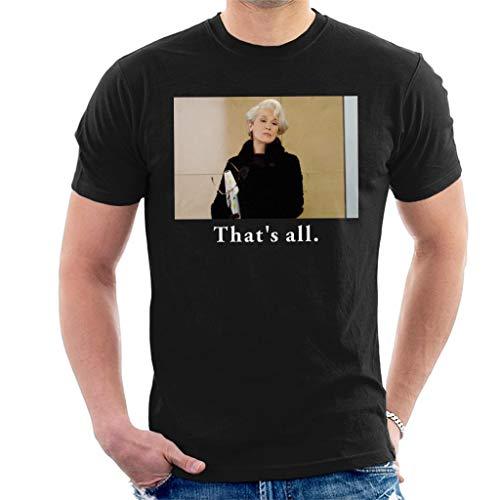 (The Devil Wears Prada Thats All Men's T-Shirt Black)