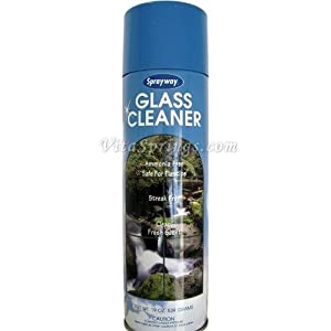 Sprayway Glass Cleaner, Ammonia Free, Streak Free, 19 oz (539 G)