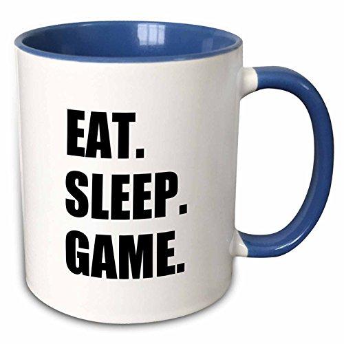 3dRose InspirationzStore Eat Sleep series - Eat Sleep Game -