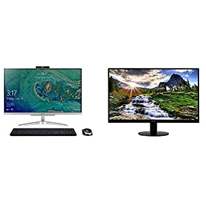 Acer Aspire C24-865-UA91 AIO Desktop, 23.8 inches Full HD, 8th Gen Intel Core i5-8250U, 8GB DDR4, 1TB HDD, 802.11AC Wifi…