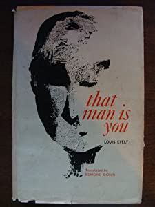 Hardcover That man is you Book