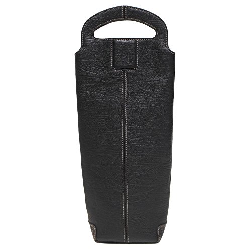 boconi-hendrix-single-bottle-wine-carrier-oldwood-black-with-plaid