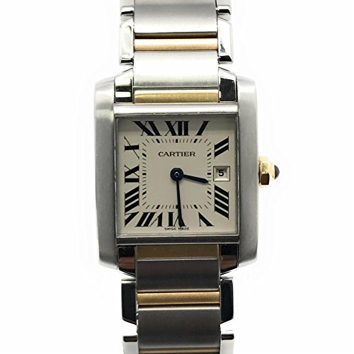 Cartier Tank Francaise swiss-quartz womens Watch W51012Q4 (Certified Pre-owned)