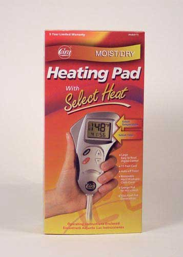 SPECIAL PACK OF 3-Select Heat Heating Pad w/ LCD Display Sta