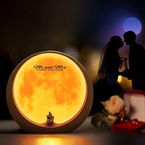 mamre Moon Ambient Light DIY Anniversary Wedding Valentines Day Gift Ideas Art Décor, Love Beneath The Red Moon 41GaV8uNDxL