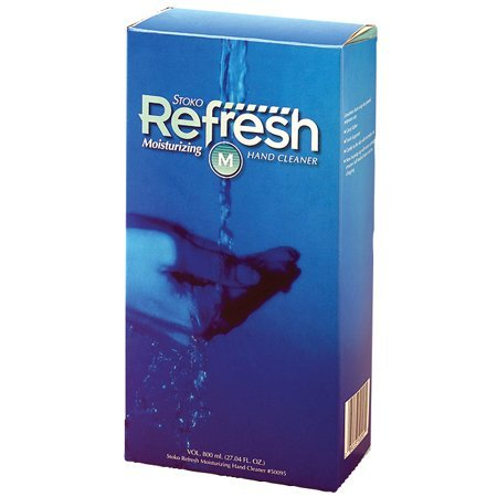 Stoko Refresh Moisturizing Foam Soap - 800 mL -(1 CASE)