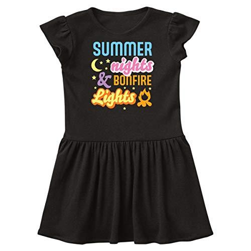 (inktastic - Summer Nights and Bonfire Lights Infant Dress 18 Months Black 362f8)
