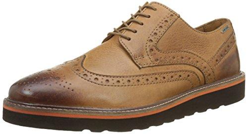 Pepe Jeans Barley, Zapatos de Cordones Brogue para Hombre Marrón - Braun (Tan 869)