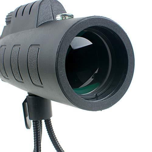 Pevor 35X50 HD Portable Monocular Telescope Optical Prism Mobile Telephoto Lens Phone Camera Lens + Tripod Universal Smartphones by Pevor