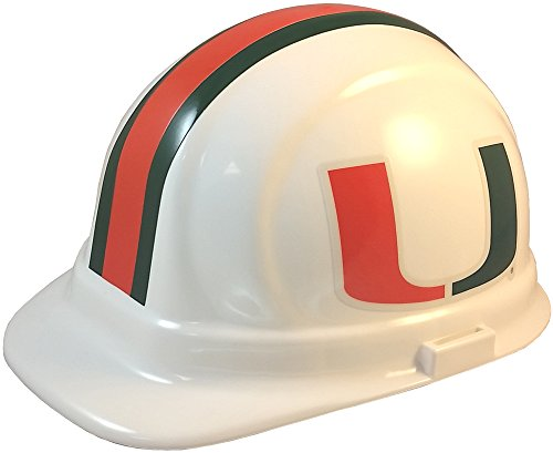 Wincraft NCAA College Ratchet Suspension Hardhats - Miami Hurricanes Hard Hats ()