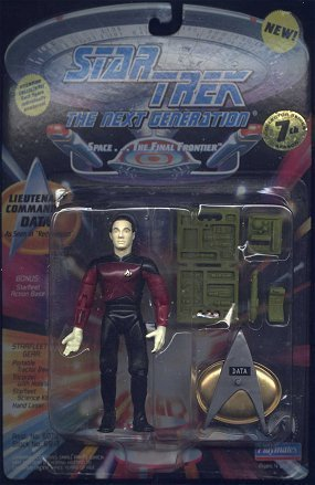 Lieutenant Commander Data As Seen in the Episode