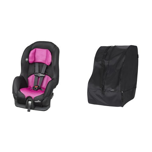 Evenflo Tribute LX Convertible Car Seat - Abigail with Car Seat Travel & Storage Bag