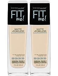 Maybelline New York Fit Me Matte + Poreless Liquid Foundation...