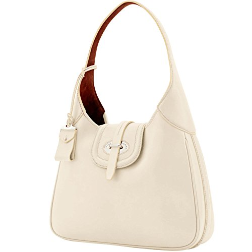 Florentine amp; Dooney Bourke Large Bone Toscana Shoulder Bag Hobo qaw4nCwx