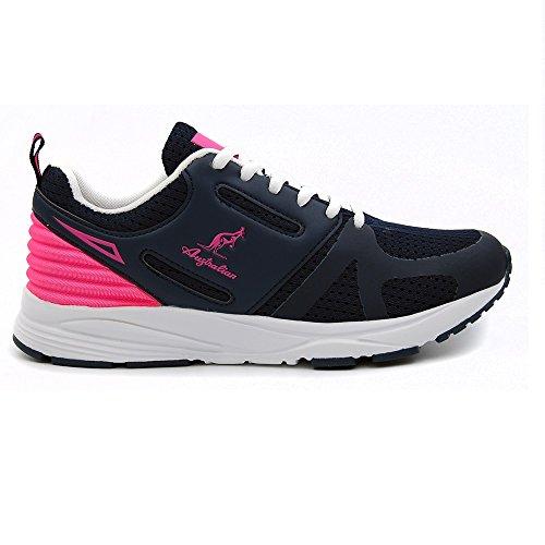 121 Walkingschuhe Damen Australian Fuxia Blu 1zEwvTq